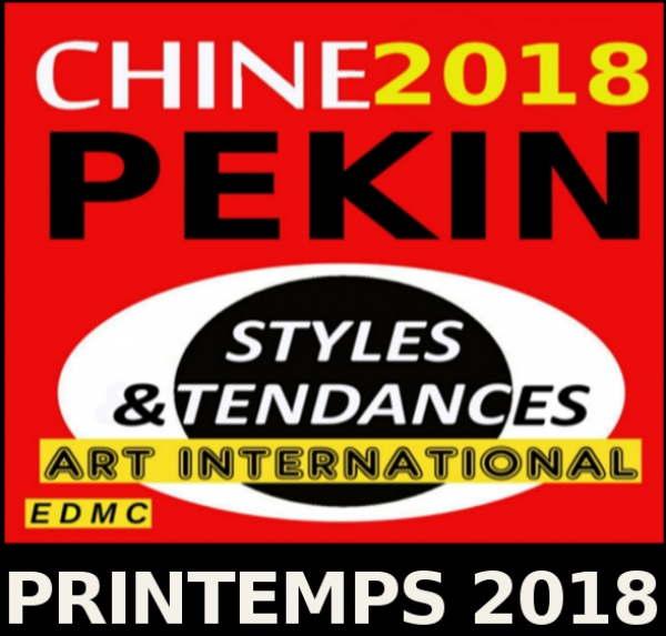 Styles et Tendances dans l'Art International - Printemps, PEKIN - 2018 Chine