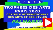 VIDEO DUREE 7mn22 SYNTHESE TROPHEES DES ARTS PARIS 2020
