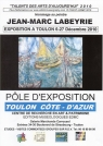 Affiche Exposition Jean- Marc LABEYRIE