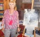 La peintre paysagiste abstraite Christiane BROUSSARD, de l'émotion à l'insight.