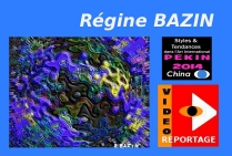 VIDEO REGINE BAZIN Styles et Tendances dans l'art international PEKIN 2014  V.O.  12 mn. 17 s.