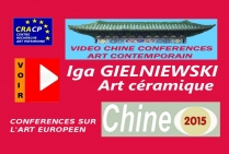 VIDEO DE PRESENTATION ARTISTES EN CHINE (CONFERENCES): IGA GIELNIEWSKI, peintre, sculptrice