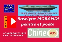 VIDEO DE PRESENTATION ARTISTES EN CHINE (CONFERENCES): ROSELYNE MORANDI, peintre, poète