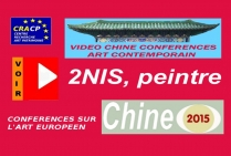 VIDEO DE PRESENTATION ARTISTES EN CHINE (CONFERENCES): 2NIS, peintre