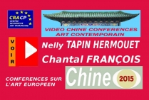 VIDEO DE PRESENTATION ARTISTES EN CHINE (CONFERENCES): NELLY TAPIN -HERMOUET, peintre. CHANTAL FRANCOIS, peintre, peintre