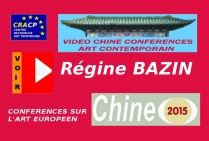 VIDEO DE PRESENTATION ARTISTES EN CHINE (CONFERENCES): REGINE BAZIN, peintre numérique