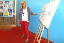La peintre Christiane BROUSSARD sélectionnée pour  l'exposition concours l'ART ET LA MER  à Toulon, présente ici sa peinture  non figurative,  ses marines achromatiques questionnent la perception visuelle tout  autant que le réel.