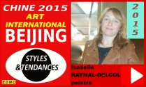 VIDEO PRESENTATION A PEKIN 2015 ISABELLE RAYNAL-DELCOL PEINTRE ABSTRAITE