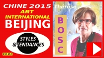 VIDEO PRESENTATION A PEKIN 2015 THERESE BOSC PEINTRE ABSTRAITE