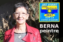 BERNA, peintre contemporaine