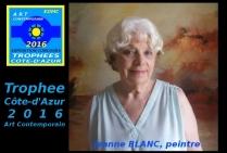 la peintre Jeanne BLANC
