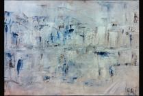 Christiane BROUSSARD, CRI, peinture portuaire en impressionnisme-abstrait