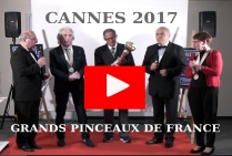 VIDEO 2017 CANNES PALMARES GRANDS PINCEAUX DE FRANCE