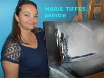 la peintre abstraite Marie TIFFES