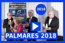VIDEO 1ère PARTIE Palmarès Grands Pinceaux de France 2018