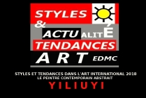 YILIUYI PEINTRE CONTEMPORAIN ABSTRAIT