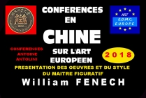 Chine - le style du peintre William FENECH