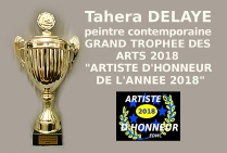 Tahera DELAYE peintre contemporaine abstraite