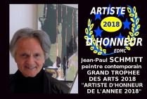 Le peintre contemporain Jean-Paul SCHMITT