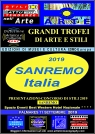 Affiche de communication Sanremo 2019