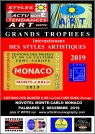 MONACO  MONTE-CARLO GRANDS TROPHEES INTERNATIONAUX DES STYLES 2019 EDMC-Europe